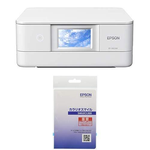 【5年間保証サービス付き】エプソン プリンター インクジェット複合機 カラリオ EP-882AW ホワイト(白) (2019年新モデル)