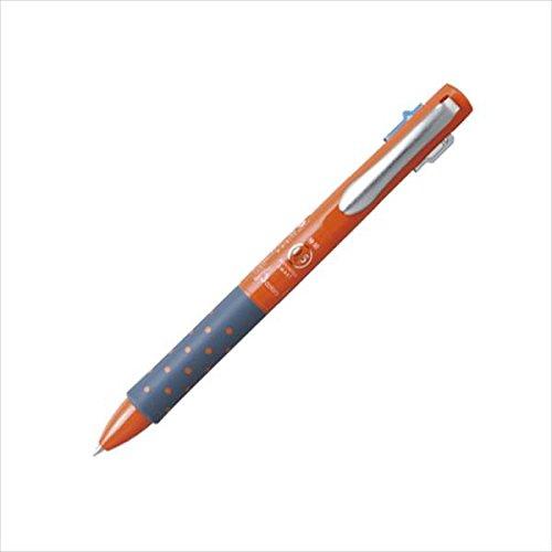 トンボ鉛筆:リポータースマート3 3色ボールペン0.5(黒・赤・青) オレンジ BC-TRLE54 22652