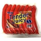 冷凍 Frozen PrimeFoods Tender Juicy Hotdog 300g(8pcs) 热狗香肠 300克 熟食 冷冻品 内有8根香肠 总重量300g