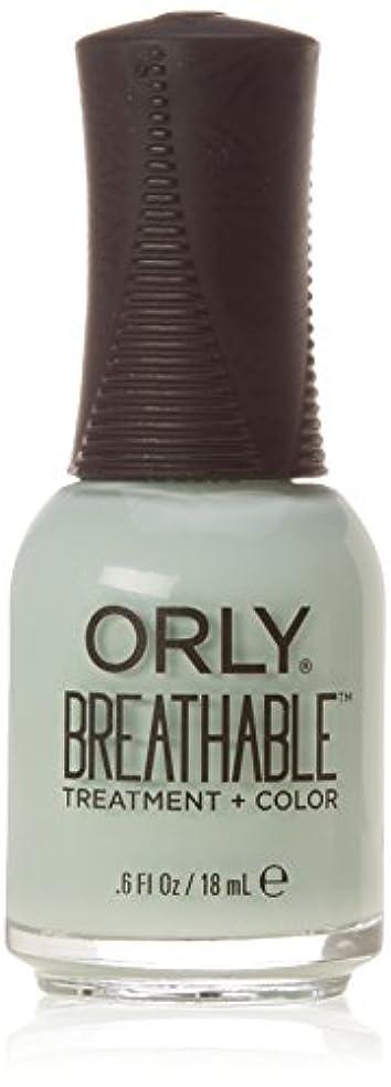 先入観適度に絶滅させるOrly Breathable Treatment + Color Nail Lacquer - Fresh Start - 0.6oz/18ml