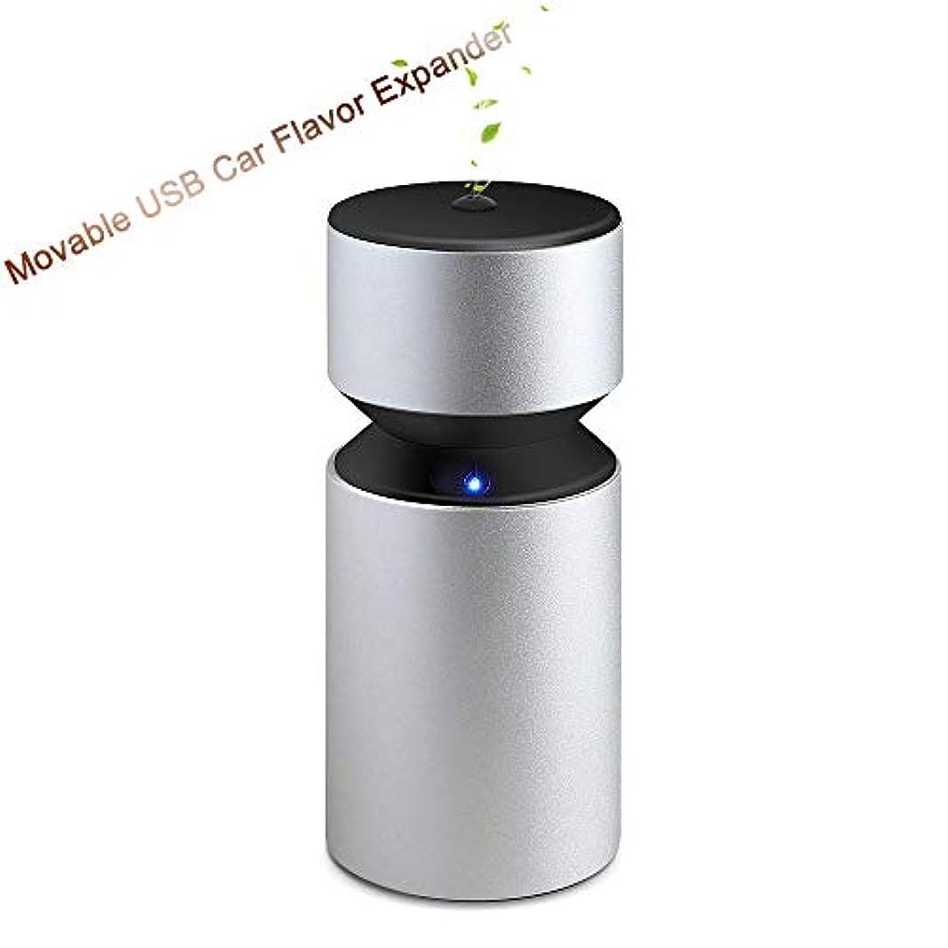 ハンカチクラッチさせる車のアロマセラピーマシン、USB充電車のアロマセラピーマシン、ミニ3.0 USB充電式アロマセラピーアロマ用充電式ネブライザー