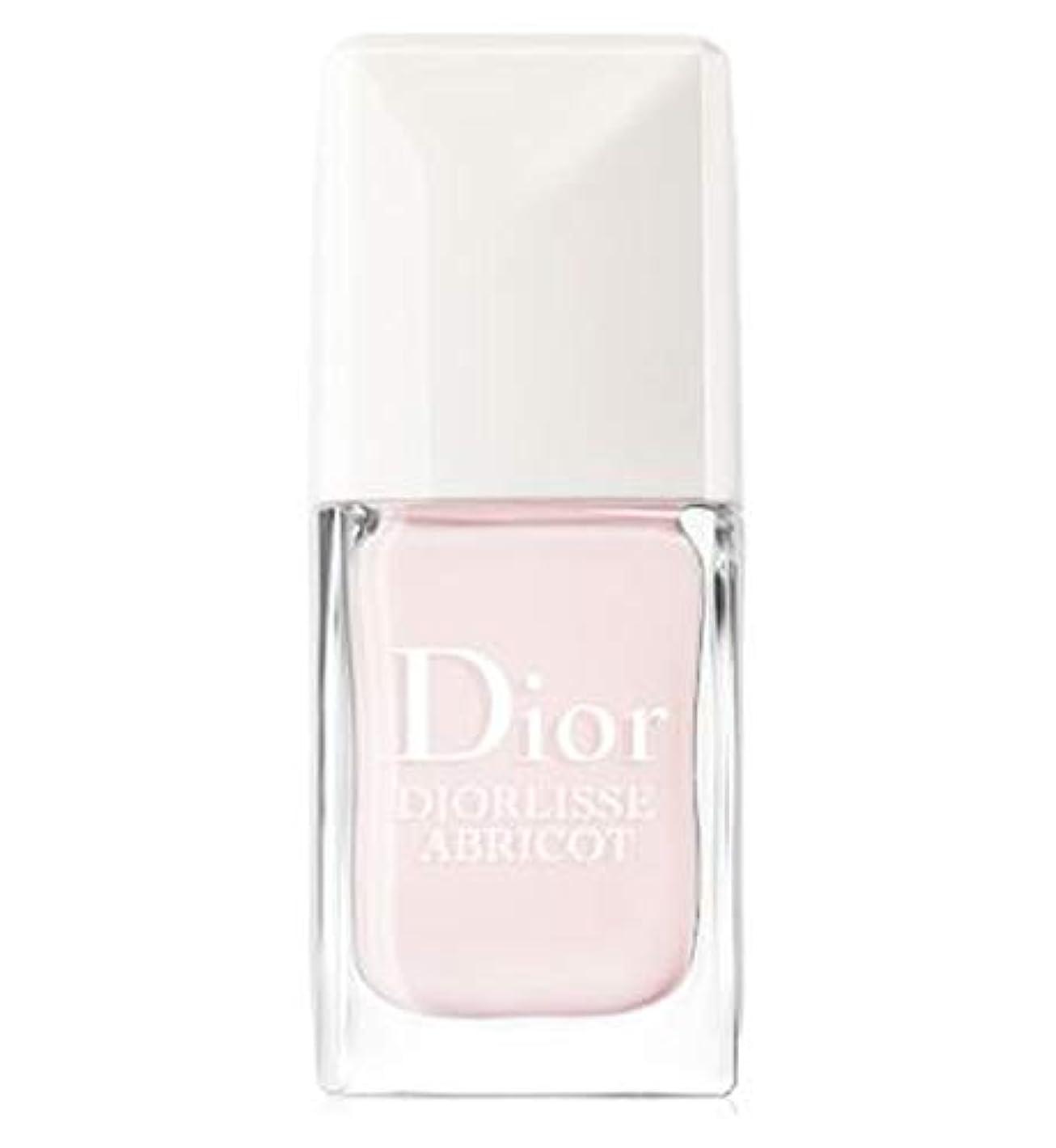不正相対的道徳の[Dior ] ピンクの花びらの10ミリリットルで完成ネイルケアを平滑化Abricot Diorlisse - Diorlisse Abricot Smoothing Perfecting Nail Care In Pink...