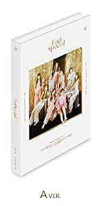 トゥワイス - Feel Special [A ver.] (8th Mini Album) CD+88ページフォトブック+リリックスペーパー+フォトカード5枚+ゴールドフォトカード1枚+予約特典+Folded Poster [KPOP MARKET特典: 追加特典両面フォトカードセット] [韓国盤]