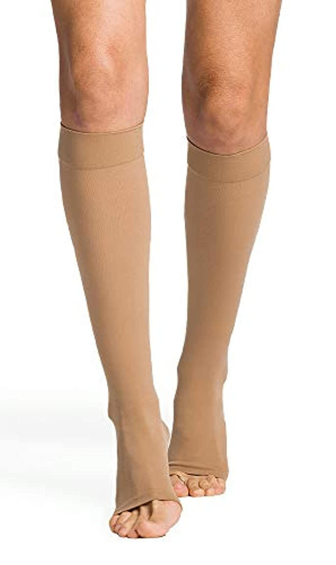 技術的な発揮するペパーミントSigvaris Select Comfort 20-30mmHg OT Knee High in Crispa - Medium Long by Sigvaris