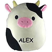 "カスタマイズされたKellytoy squishmallow 8 "" Connor The Cow Super Soft Plush Toy Pillow Pet動物枕。。。 16"" 20u9r2lwpna"