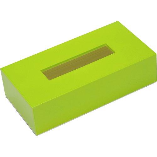 nurimono-zakka ティッシュBOXカラー グリーン 日用品 家庭用品 ペーパー類(紙用品) [並行輸入品]