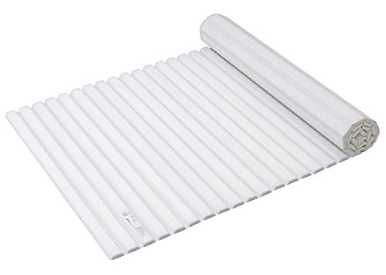 パール金属 日本製 風呂 ふた M11 70×112.2cm ホワイト シャッター式 スタイルピュア 適正サイズ:70×110cm用 寸法:(約)70×112.2cm HB-3790