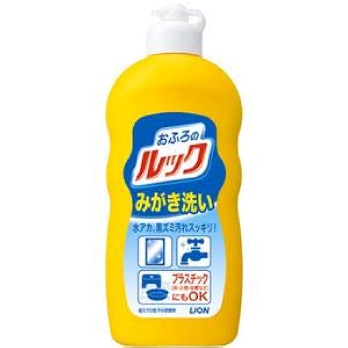 注入バラエティ製油所(まとめ)ライオン おふろのルックみがき洗い 【×5点セット】
