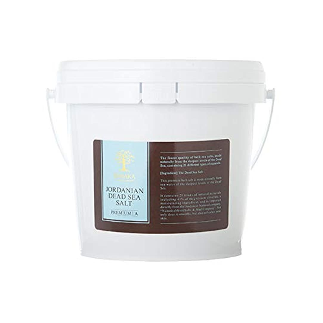 占める足音ベッドを作るBARAKA(バラカ) ジョルダニアン デッドシー ソルト バケツ 1.5kg バスソルト 入浴剤 ヨルダン産死海塩100%