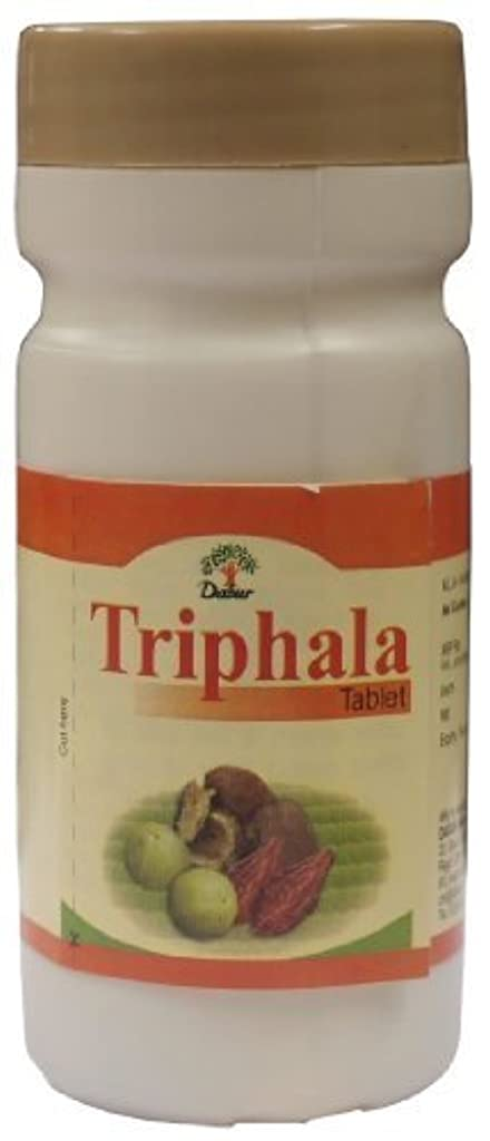 降ろす海里芽Triphala Tablets - Ayurvedic Weight Loss Pills (60 Tabs) by Dabur [並行輸入品]