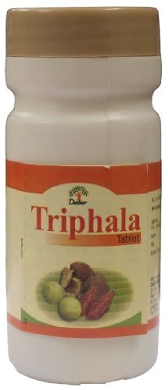 横向き資源スライムTriphala Tablets - Ayurvedic Weight Loss Pills (60 Tabs) by Dabur [並行輸入品]