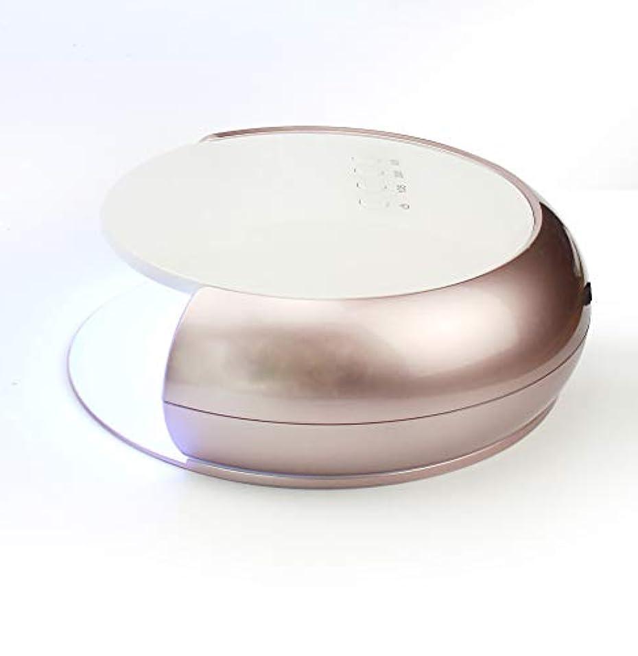 節約する手事ネイルドライヤー - 光線療法機デュアル光源33 UV / LEDランプビーズ赤外線インテリジェント温度保護4速タイミング