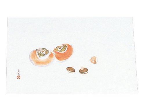 四季紙 萬寿(100枚入)柿と栗 M33-121
