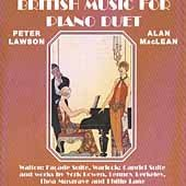British Music for Piano Duet by Peter Pawson & Alan Maclean (2001-02-27)