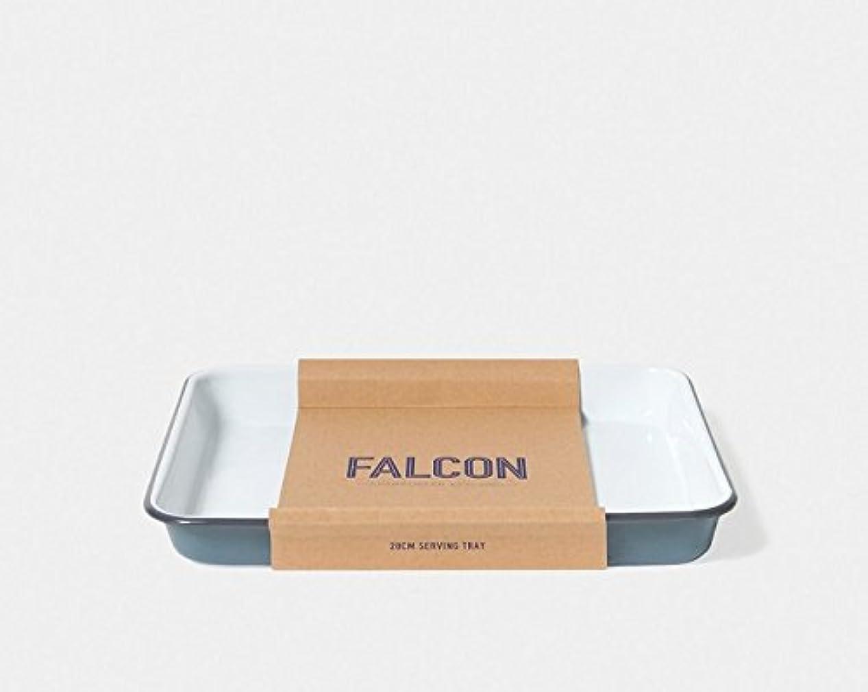 廃棄マウンド樹皮FALCON Enamelware ファルコン エナメルウェア サービングトレイ グレー