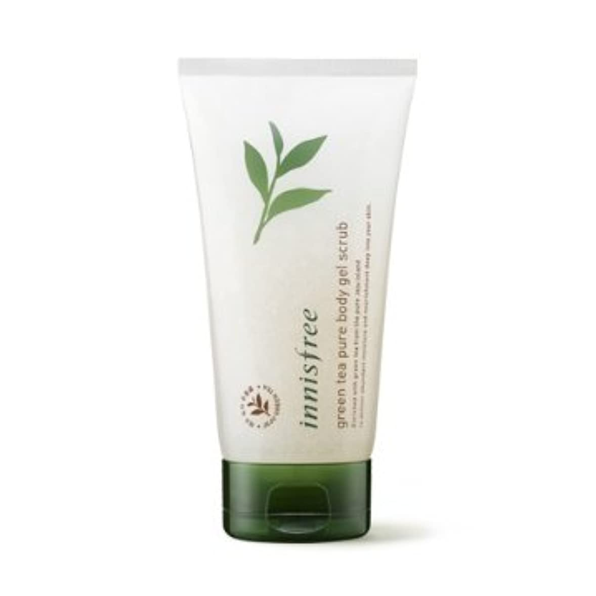 梨面倒タオル【イニスフリー】Innisfree green tea pure body gel scrub - 150ml (韓国直送品) (SHOPPINGINSTAGRAM)
