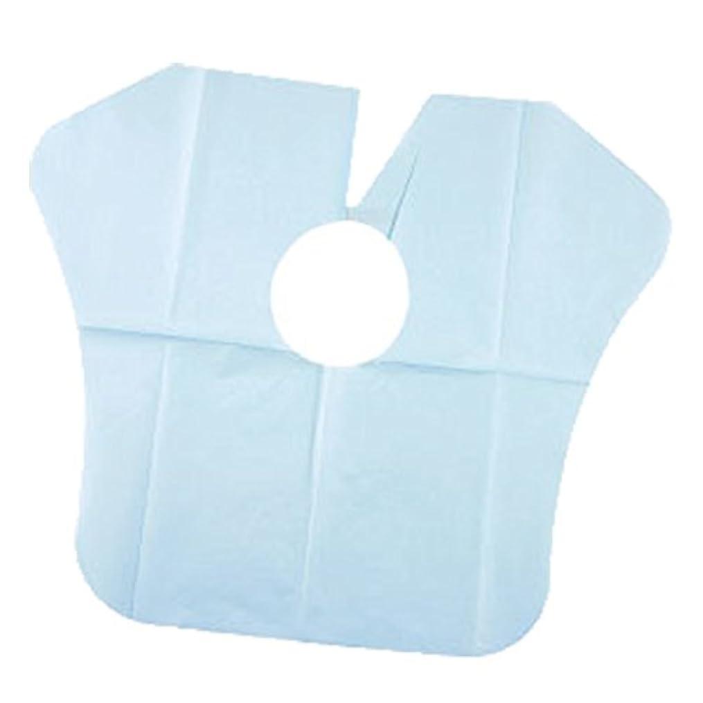 ショートカット平和的ペースヨネコ ペーパーケープ 30枚入 不織布 ヘアダイクロスを汚れから守ります! YONECO