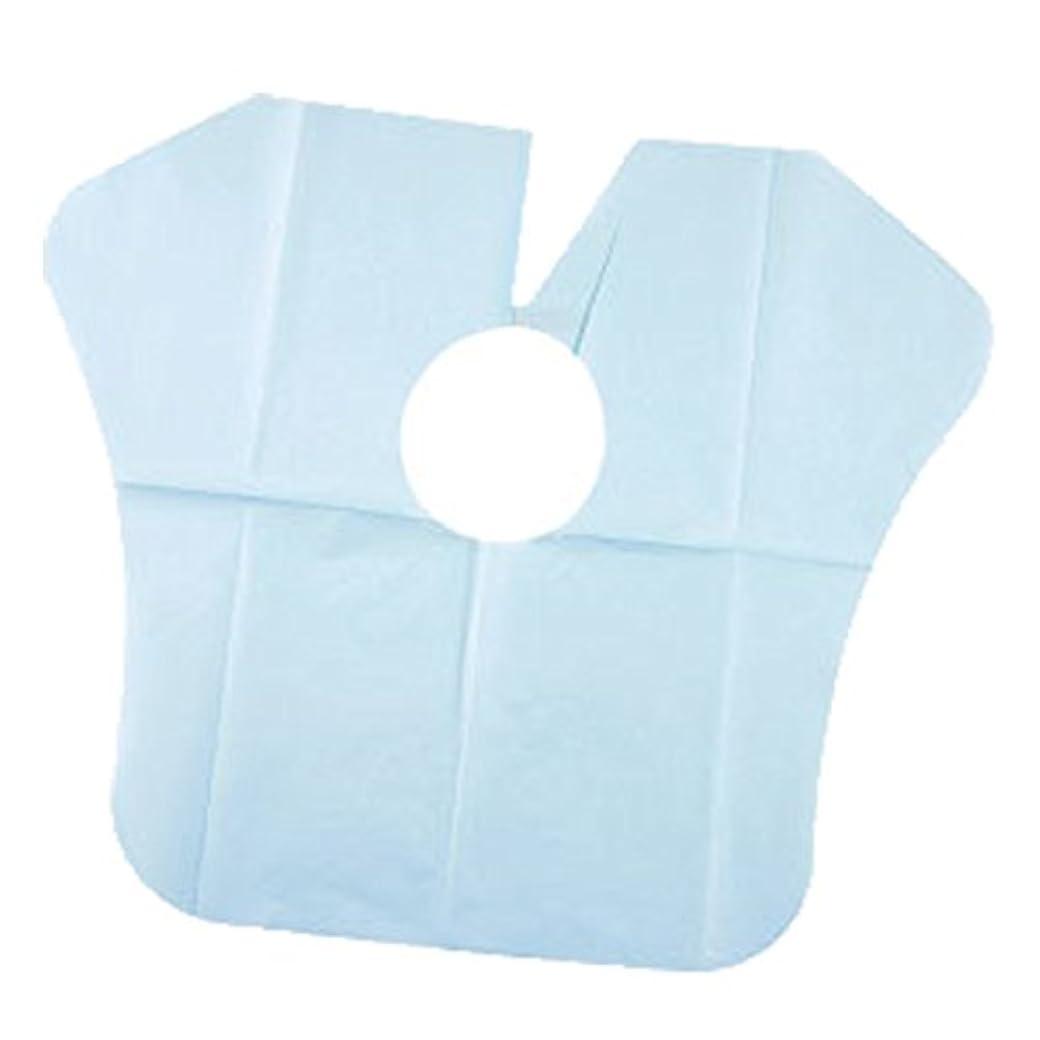 無効にする戦争落ち着いたヨネコ ペーパーケープ 30枚入 不織布 ヘアダイクロスを汚れから守ります! YONECO