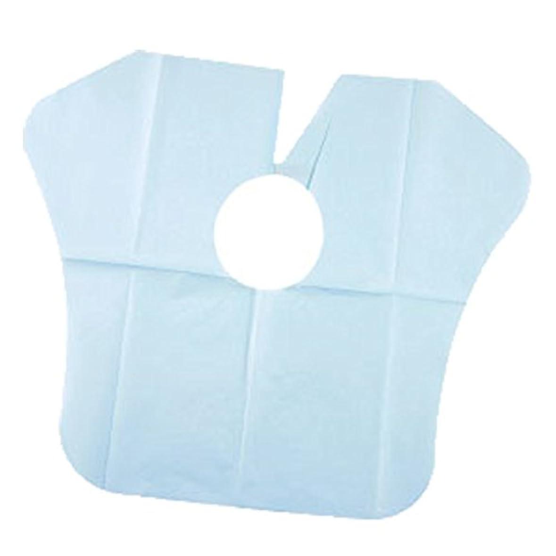 雲胃前にヨネコ ペーパーケープ 30枚入 不織布 ヘアダイクロスを汚れから守ります! YONECO