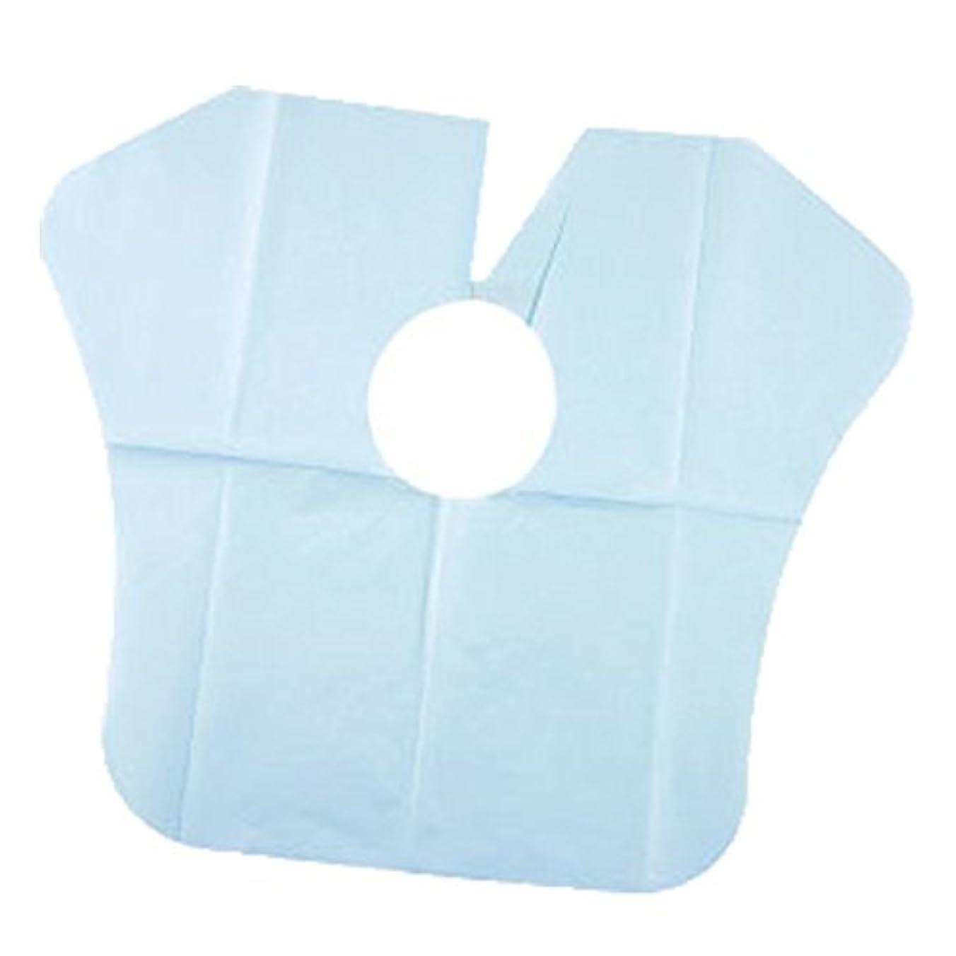 かすれた安心四半期ヨネコ ペーパーケープ 30枚入 不織布 ヘアダイクロスを汚れから守ります! YONECO