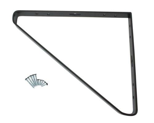 RoomClip商品情報 - ハイロジック 三角棚受 250×300mm 11317 黒