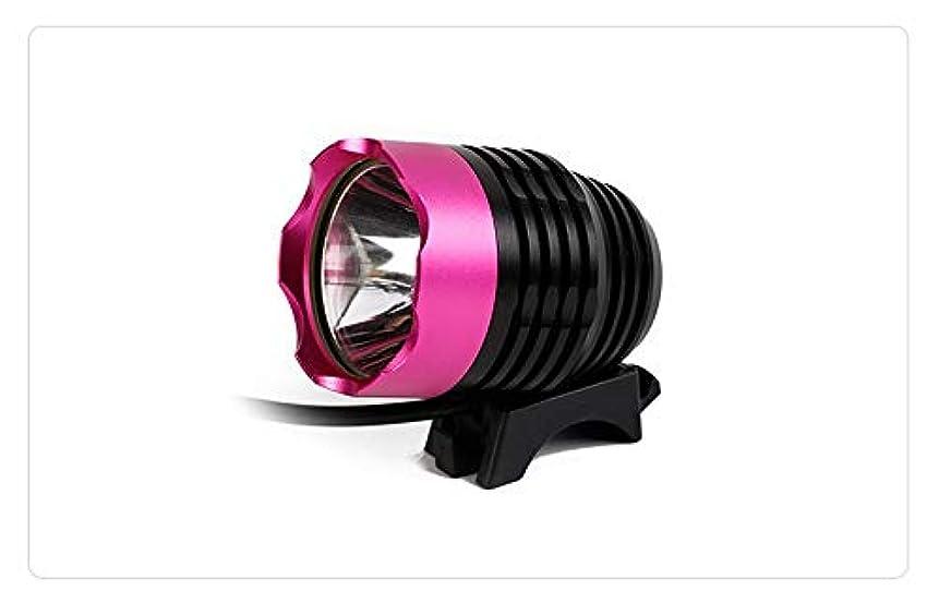 将来の基本的な驚いたことにLumières de vélo rechargeables 自転車用ライト、無料テールライト付、自転車用ライト、工具なしで秒単位で取り付け可能、パワフルな自転車用ヘッドライト対応:山、子供、街頭、自転車、前後の照明(作業時間3時間) (Color : Pink)