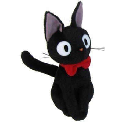 [해외]스튜디오 지브리 마녀 배달부 키키 나카지지 인형 S 23cm/Studio Ghibli Witch`s Delivery Service Nakayoshi Jiji Stuffed Doll S 23 cm