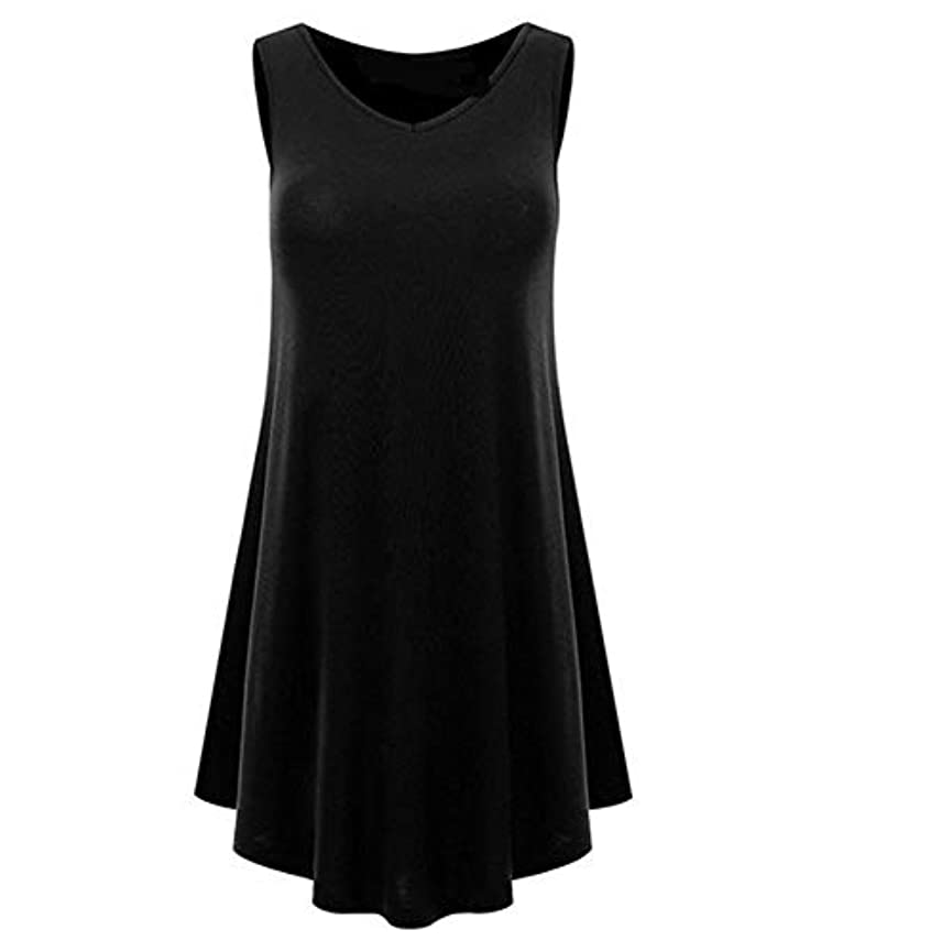 弱まる男らしい発見するMIFAN の女性のドレスカジュアルな不規則なドレスルースサマービーチTシャツドレス
