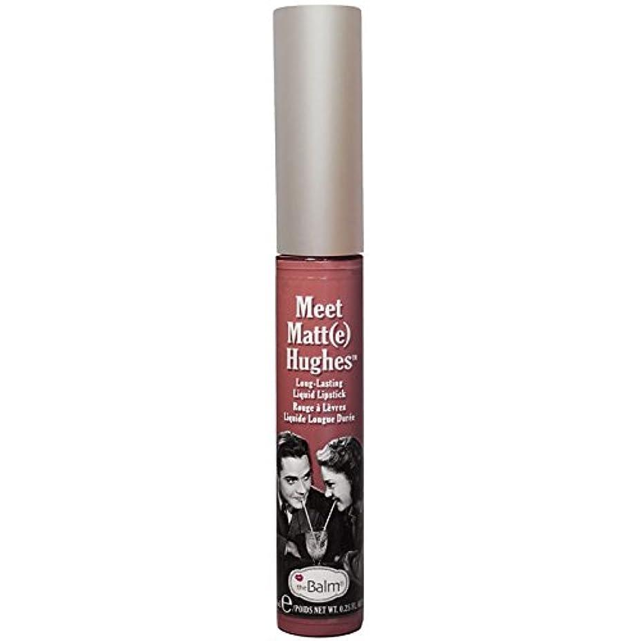 女性土器後世theBalm - Meet Matt(e) Hughes Long-Lasting Liquid Lipstick Sincere [並行輸入品]