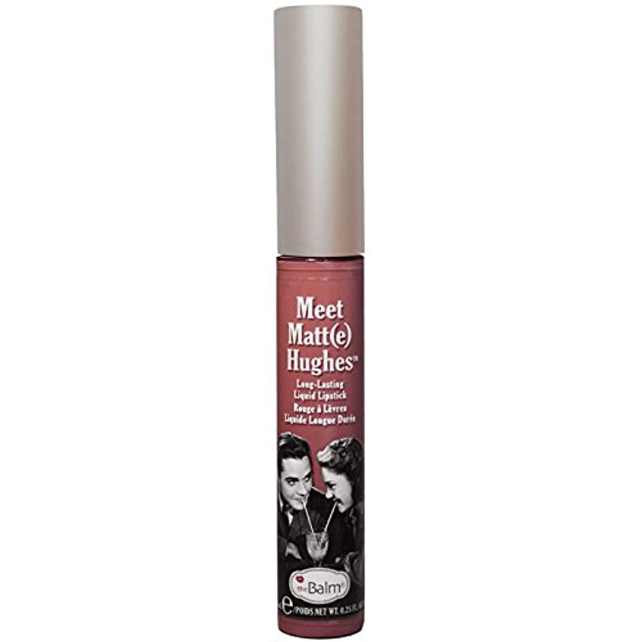 プロテスタント道徳教育パイルtheBalm - Meet Matt(e) Hughes Long-Lasting Liquid Lipstick Sincere [並行輸入品]