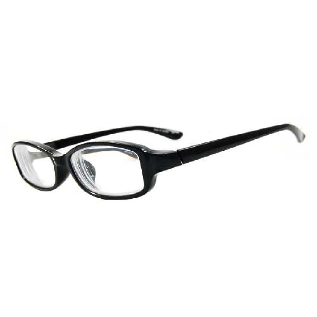 センチメートル主要な木曜日インスタントめがね 近視補正用メガネ IN-3004-1 ブラック -5.00 【目安視力:0.04~0.02】