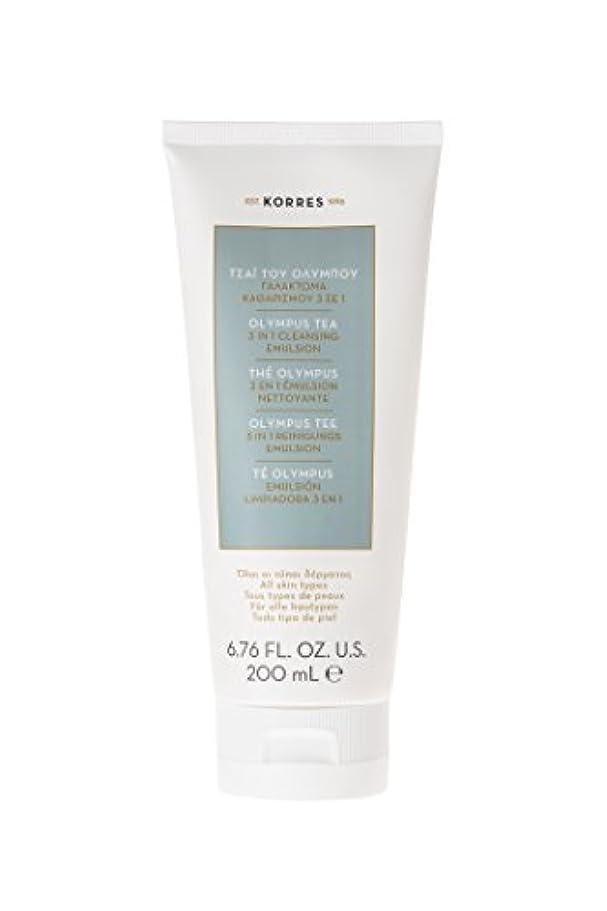 お茶一時的司教コレス Olympus Tea 3 In 1 Cleansing Emulsion - All Skin Types 200ml/6.76oz並行輸入品