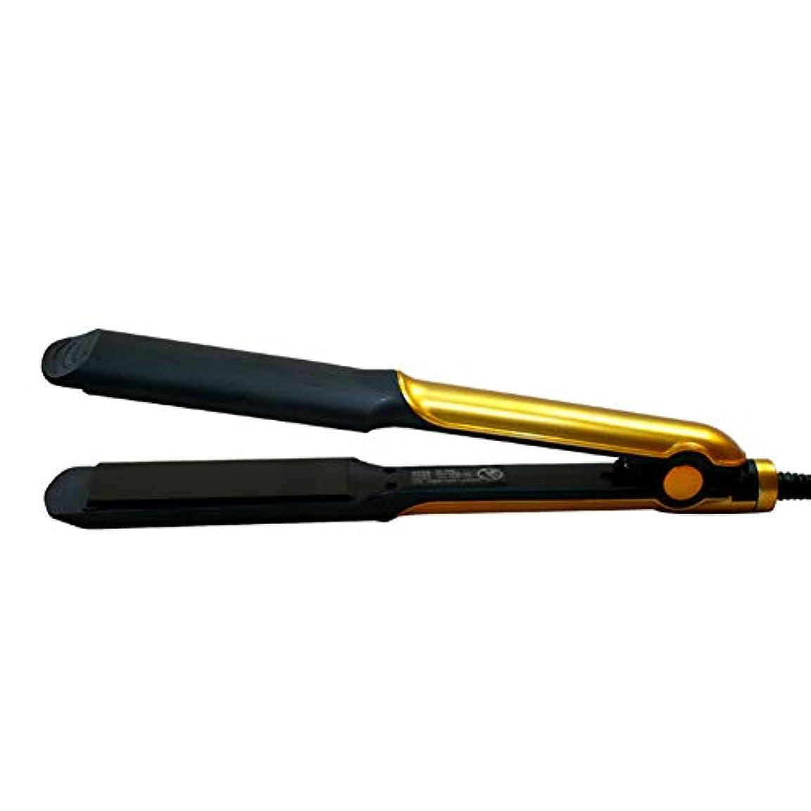 誓うにもかかわらず重要なマイナスイオンセラミックストレートヘアアイロン、30秒急速予熱、温度調節可能、やけ防止デザイン、あらゆる髪型に適しています