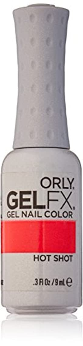 テープ変更決めますOrly GelFX Gel Polish - Hot Shot - 0.3oz / 9ml