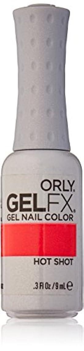 味ニックネームクラッシュOrly GelFX Gel Polish - Hot Shot - 0.3oz / 9ml