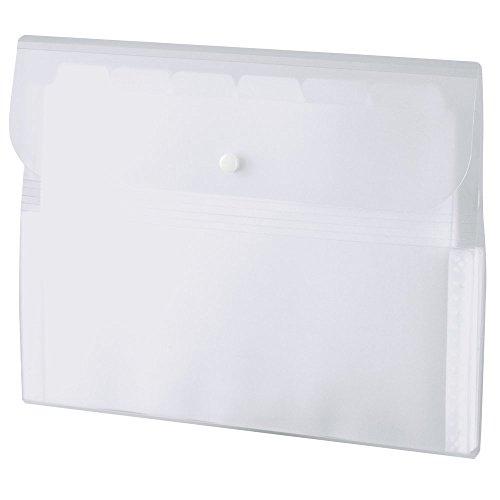 ドキュメントファイル A4 13ポケット ホワイト ACT-3912
