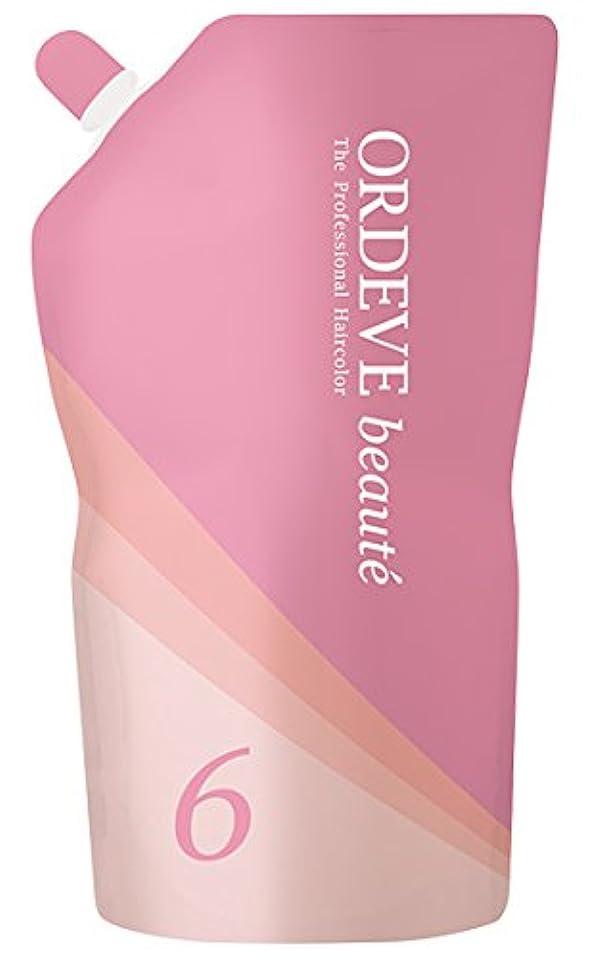 姿勢手順個人ORDEVE beaute(オルディーブ ボーテ) ヘアカラー 第2剤 OX(オキシダン) 6% 1000ml