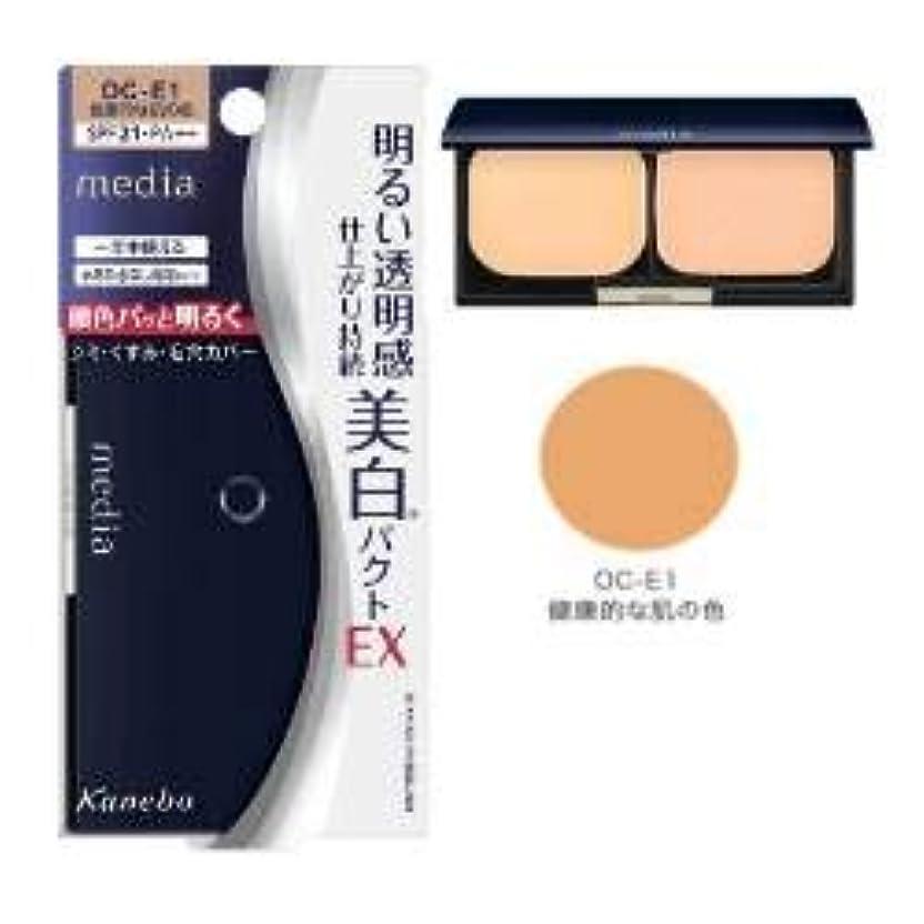 豆腐おとうさんドールカネボウ メディア ホワイトニングパクトEX OC-E1