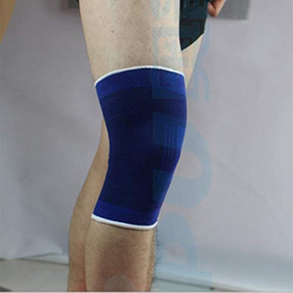 Danankan ニット膝パッドのペア夏の汗吸収通気性の超薄型スポーツニープロテクター (サイズ : ワンサイズ)