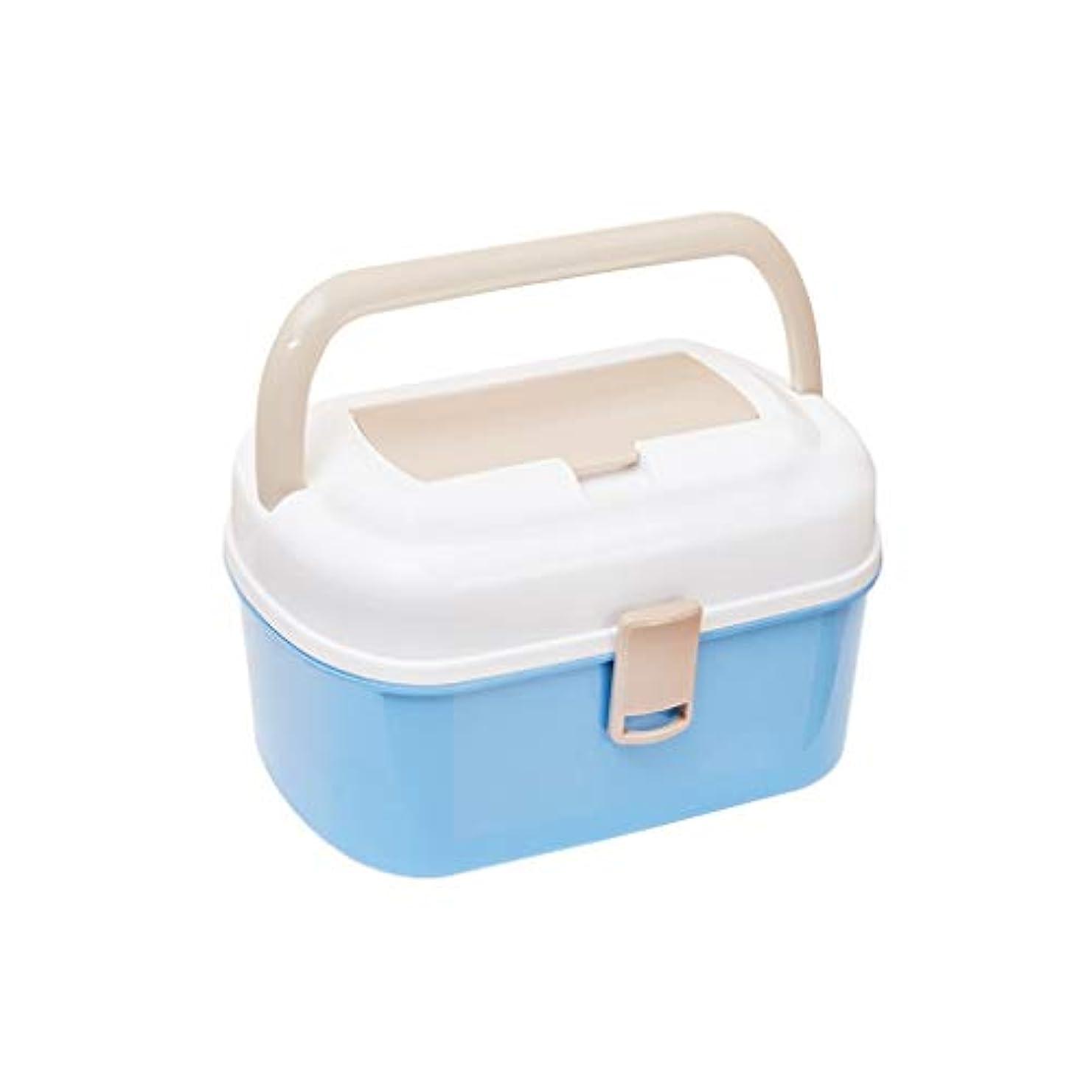 適性二次疑問に思う家庭用多層薬箱プラスチック薬収納ボックスポータブル医療ボックス救急箱 AMINIY
