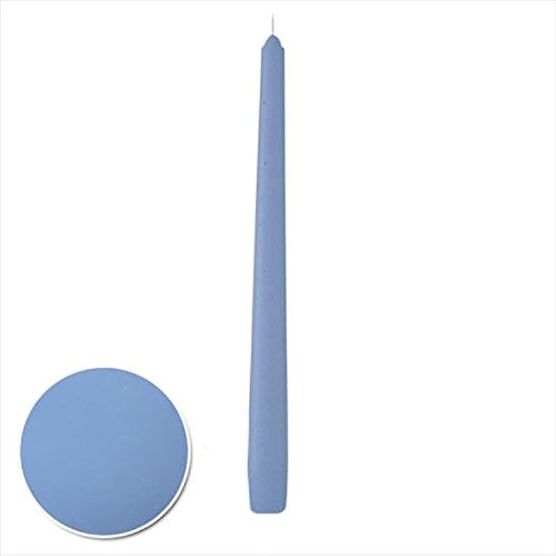 飢えシェルタービーチカメヤマキャンドル( kameyama candle ) 12インチテーパー 「 パープルブルー 」 12本入り