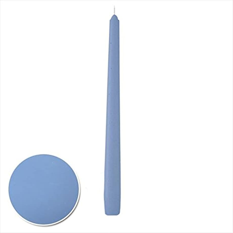反論ラバ激しいカメヤマキャンドル( kameyama candle ) 12インチテーパー 「 パープルブルー 」 12本入り