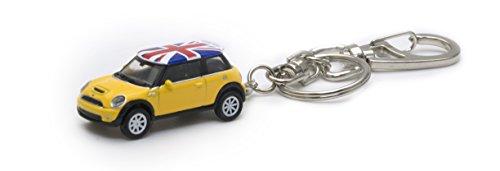 AUTODERIVE(オートドライブ) KEY CHAINS ミニクーパーS YELLOW/UK ミ...