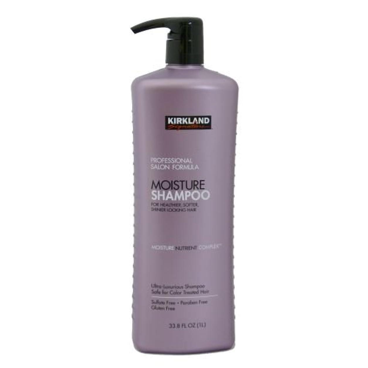 観察する知人目に見えるカークランドシグネチャー モイスチャーシャンプー1000ml【Kirkland Signature Moisture Shampoo】海外直送品