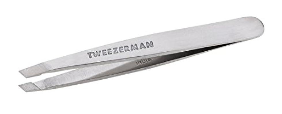 開いたポーズ女王Tweezerman Classic Stainless Steel Mini Slant Tweezer