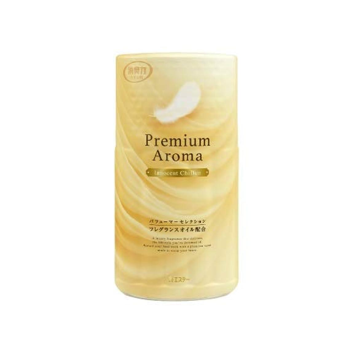 博物館勝利したトイレの消臭力 Premium Aroma イノセントシフォン × 8個セット