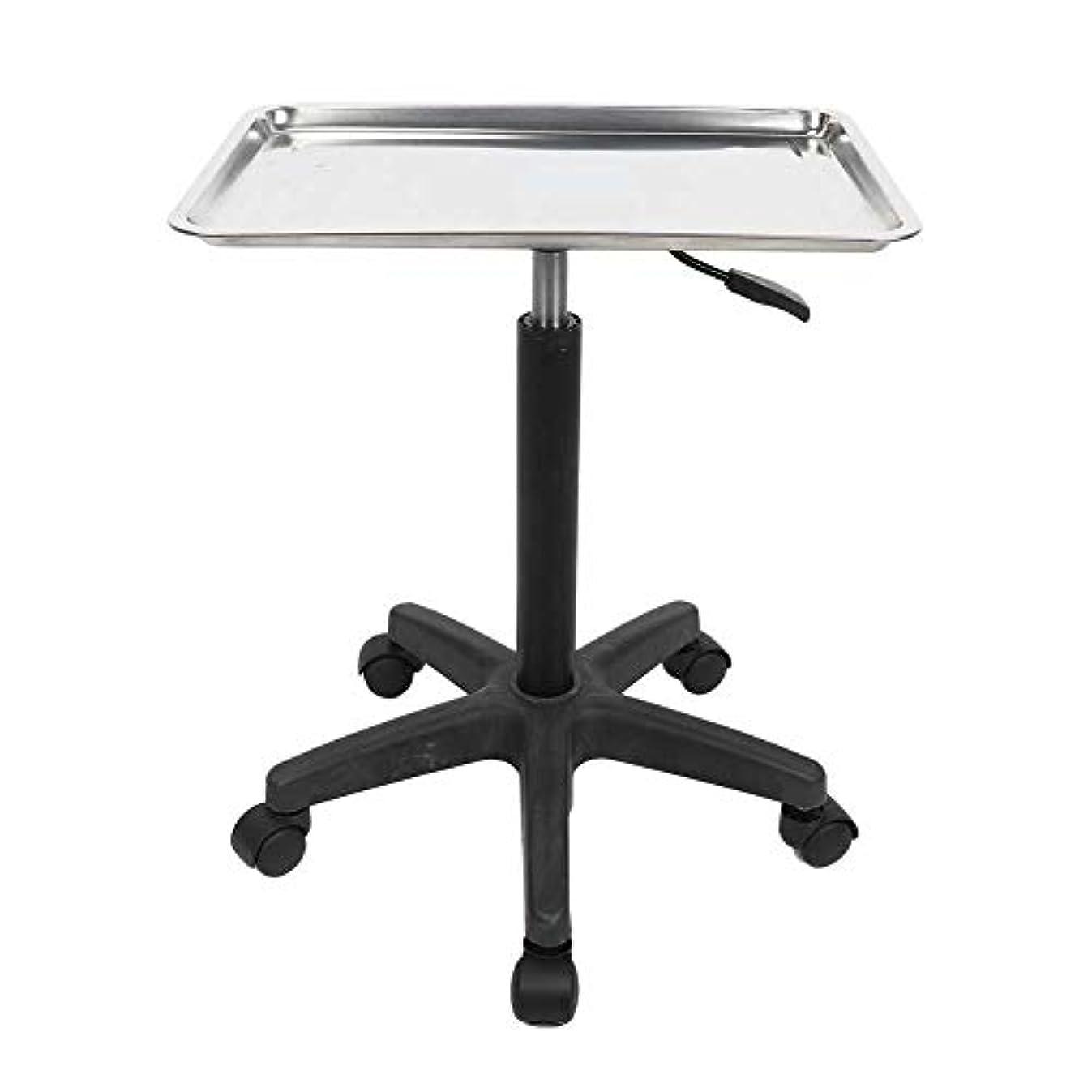 欠席責め高度美容院の芸術のための多機能の調節可能なステンレス鋼の皿のトロリー(トレイ)