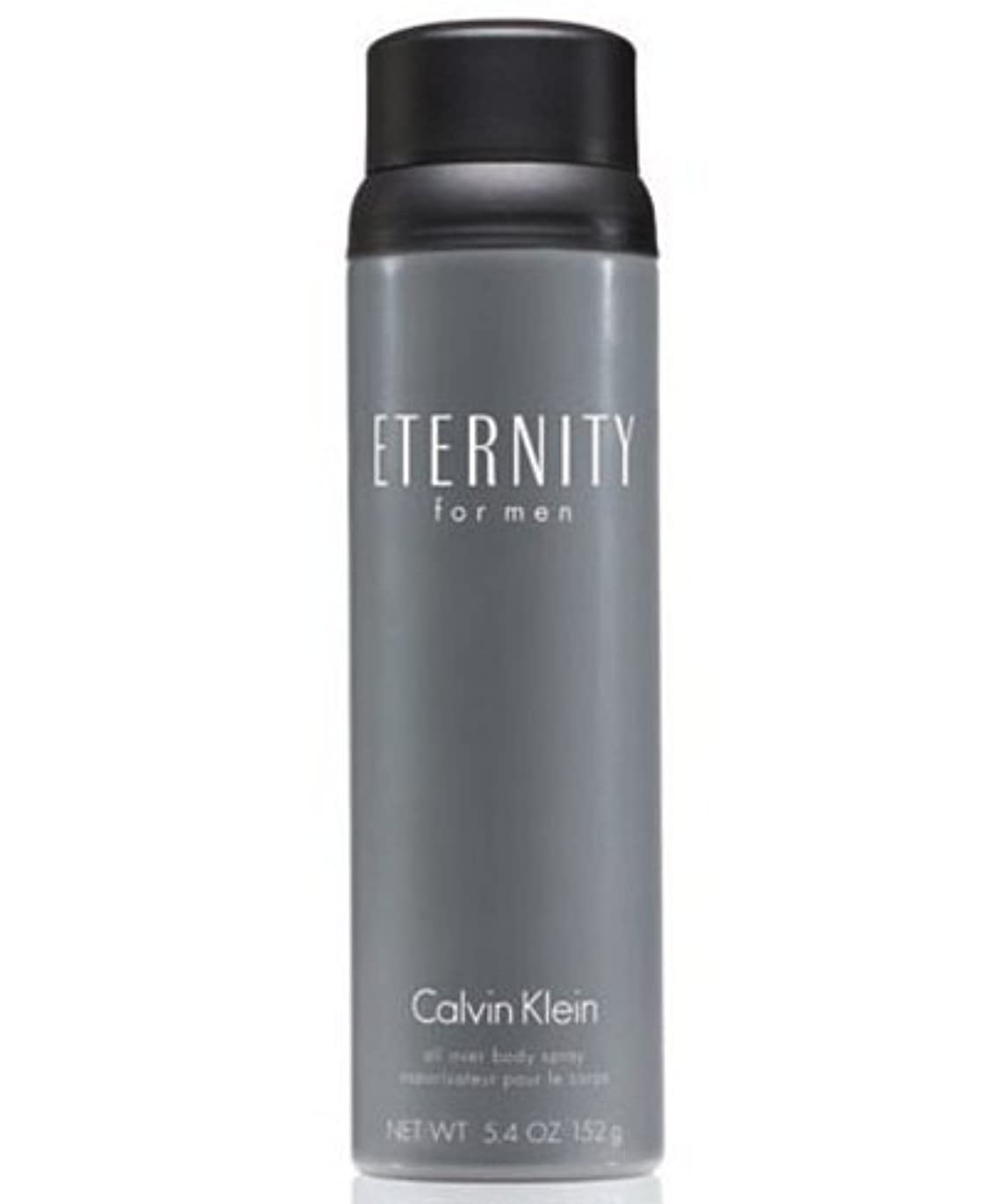 解釈的水っぽい嫌がらせEternity (エタニティー) 5.4 oz (162ml) Body Spray by Calvin Klein for Men