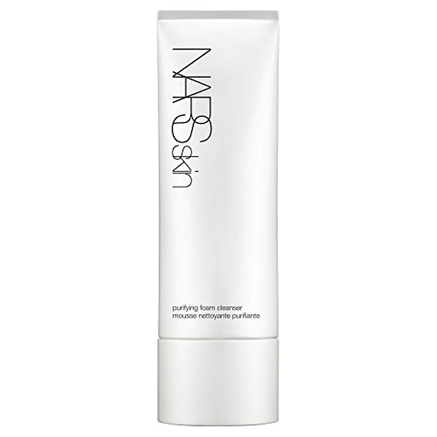 ソーシャル藤色集中的な[NARS] 125ミリリットルNarsskin浄化泡洗顔料、 - Narsskin Purifying Foam Cleanser, 125ml [並行輸入品]