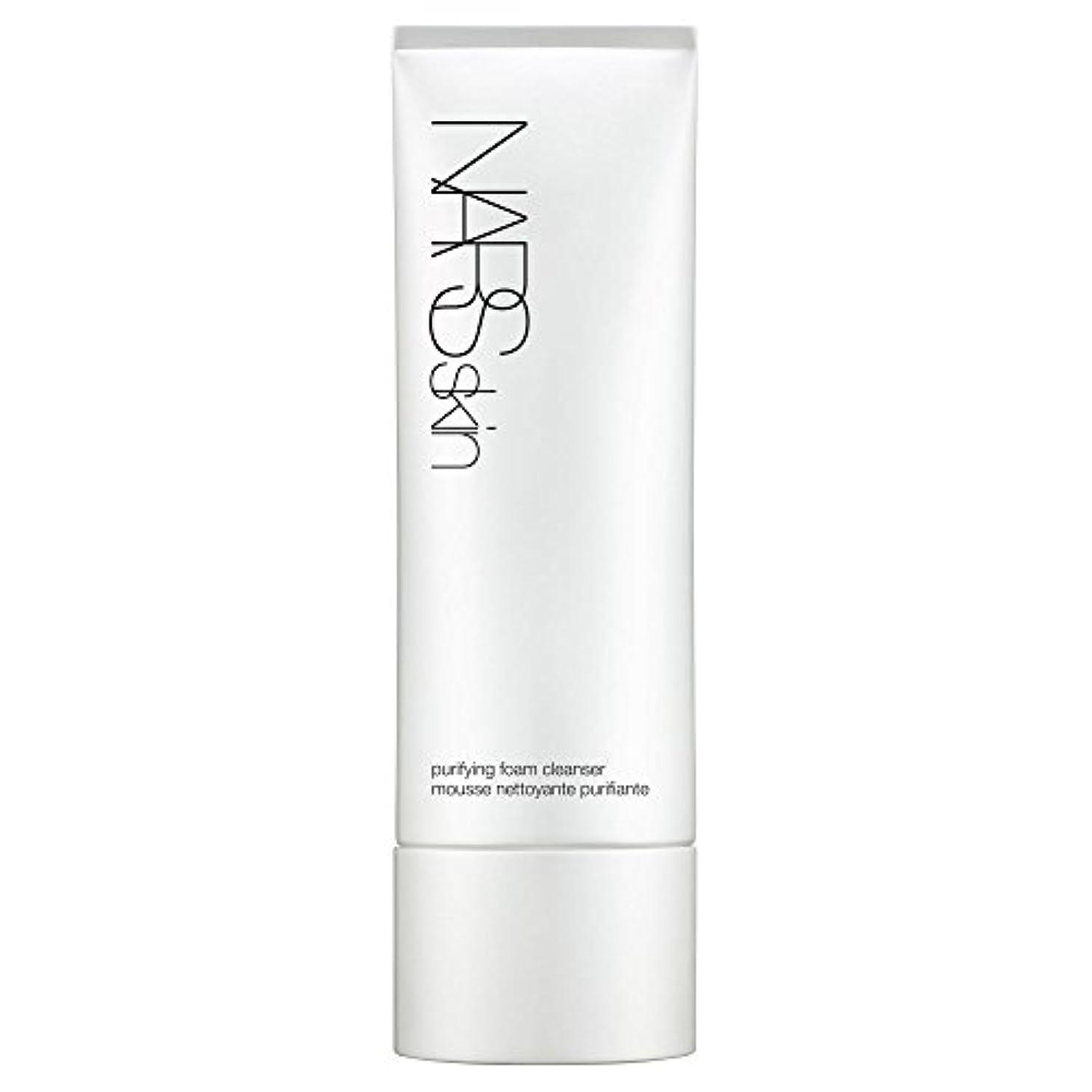 癒すジャーナリストブラウン[NARS] 125ミリリットルNarsskin浄化泡洗顔料、 - Narsskin Purifying Foam Cleanser, 125ml [並行輸入品]